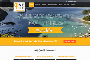 OneLife Adventures (Travel Site)
